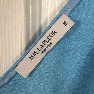 MM Lafleur Tops - MM. LAFLEUR Blue career top sz M